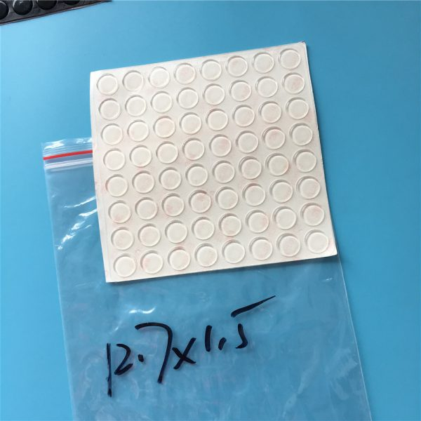clear Adhesive Rubber Pad